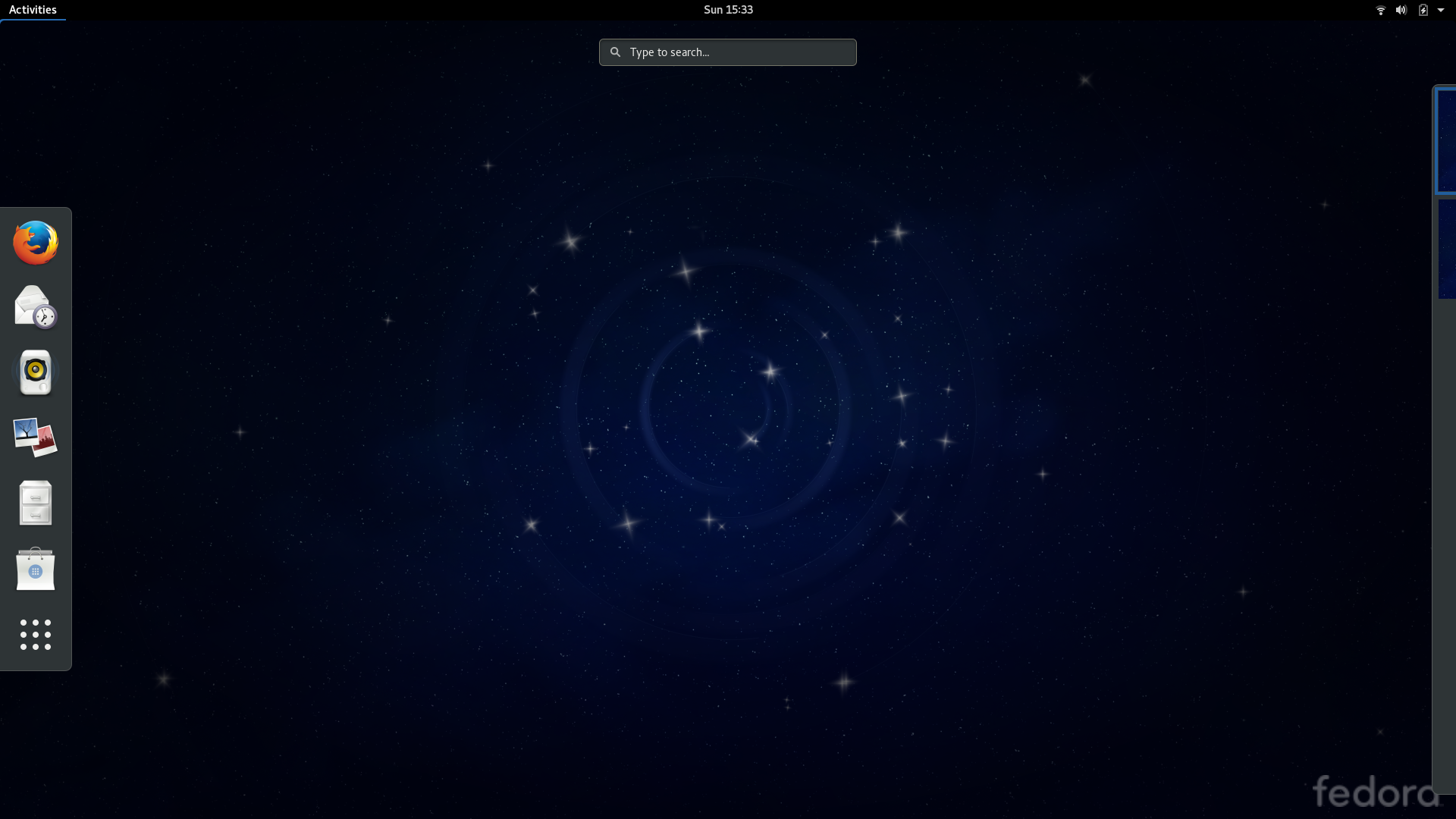 Fedora 24 desktop