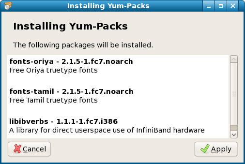 DebarshiRay Opyum system-install-yumpacks-start.png