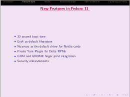 templates for presentations - fedora project wiki, Presentation templates
