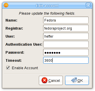 Configuring VoIP Clients with your Fedora SIP Account - Fedora