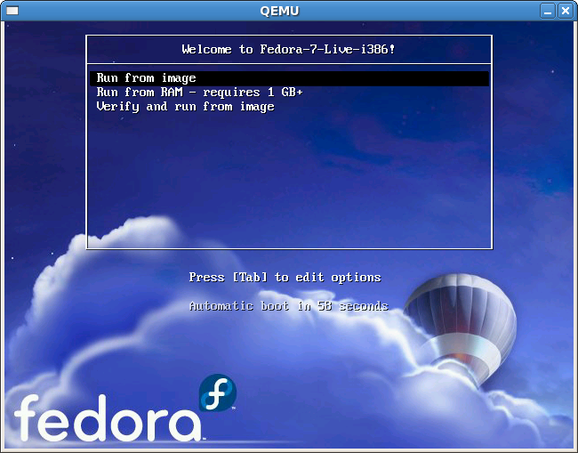 FedoraLiveCD USBHowTo usb flash with qemu.png