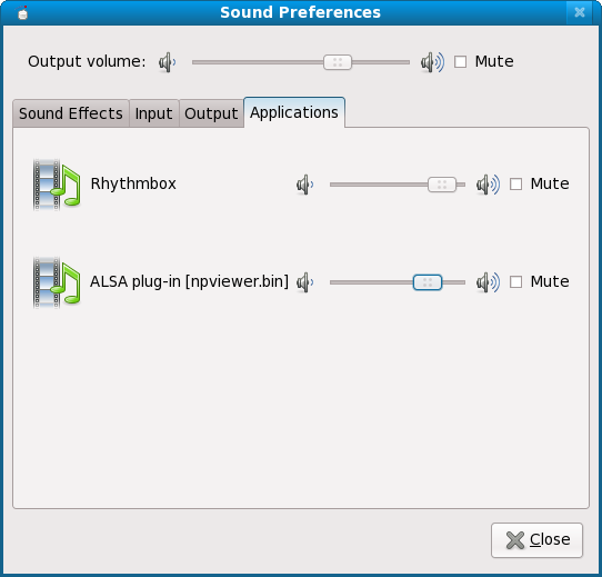 Sound preferences, last tab