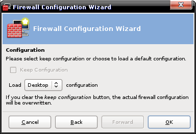 Firewall Wizard : configuration base?