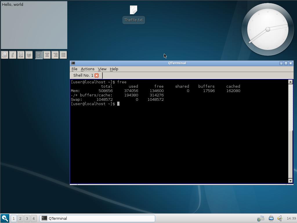 QtDesktop Spin - Fedora Project Wiki