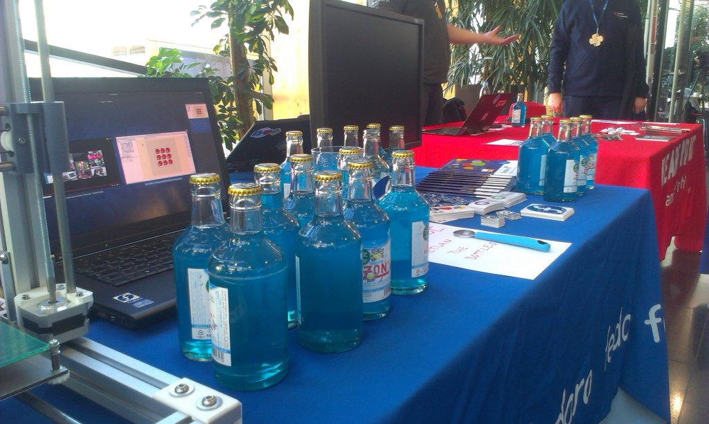 Fedora booth at PyCon CZ 2015