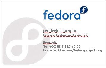 De De Botschafter Visitenkarten Fedora Project Wiki