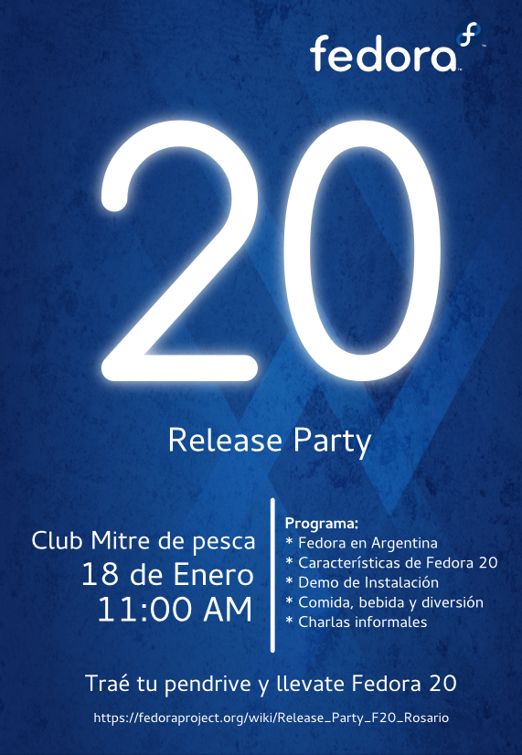 Fedora 20 Release Party