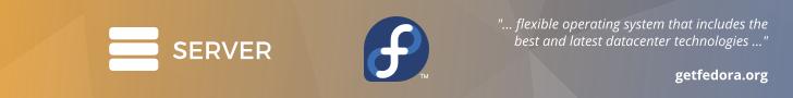 Get Fedora Server