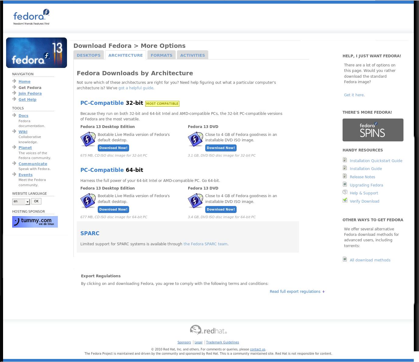Website redesign/Mockups/Get fpo - Fedora Project Wiki