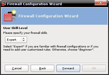 Firewall Wizard: skill?