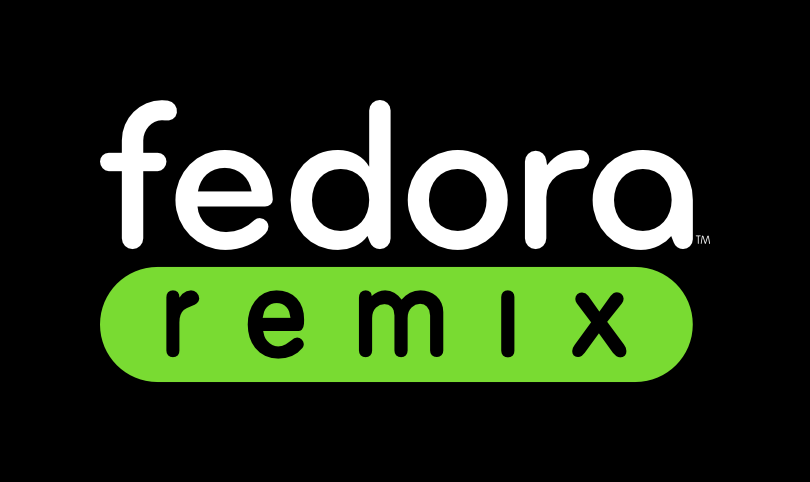 Fedora remix green blackbackground.png