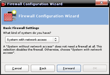 Firewall Wizard : network access?