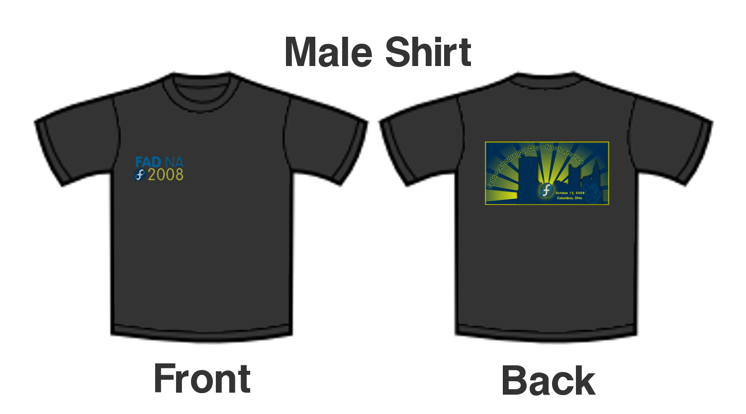 Design your own t-shirt front and back - Fadna2008 Tshirts Png