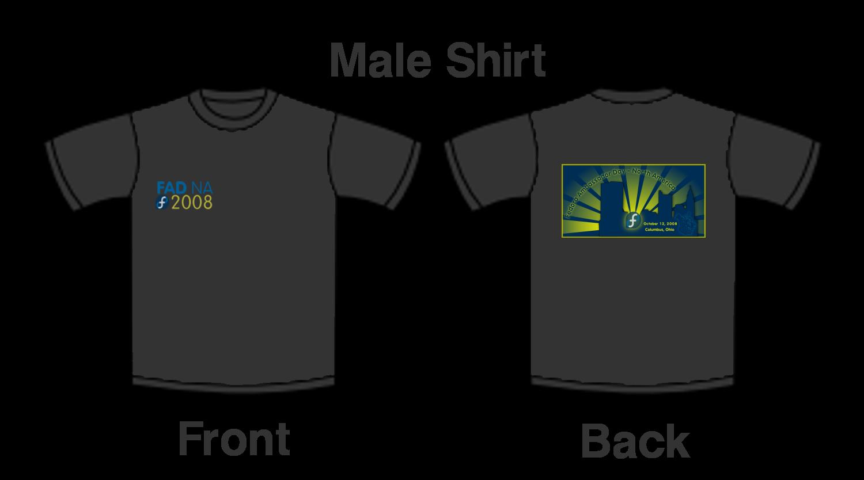Artwork t shirt fedoraproject for Columbus ohio t shirt printing