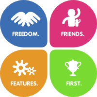The Four Foundations of Fedora: Freedom, Friends, Features, First