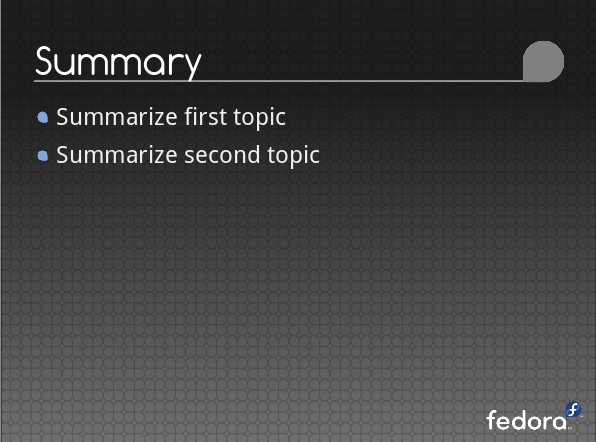 Fedora-slide-template summary base.png
