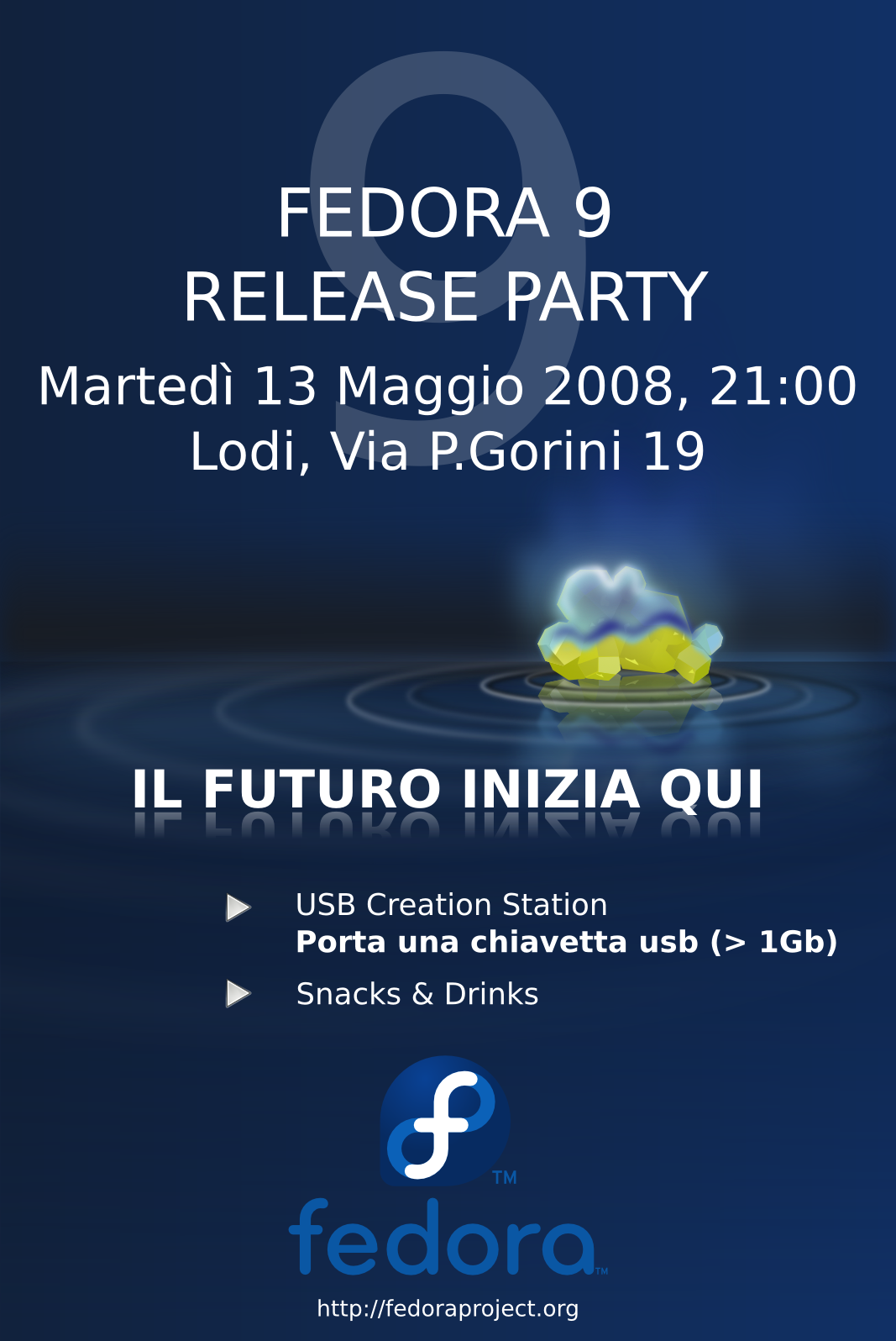 FedoraEvents ReleaseParty F9 Lodi F9RP Lodi it.png