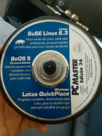 This is my CD of Suse 6.3 that came with the magazine