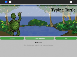 Typing Turtle activity