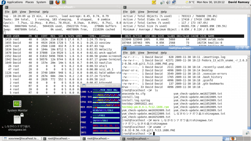 File:Fedora 13 with uname -r 2.6.3 2-0.56.rc8.git1.fc13.i686.PAE.png
