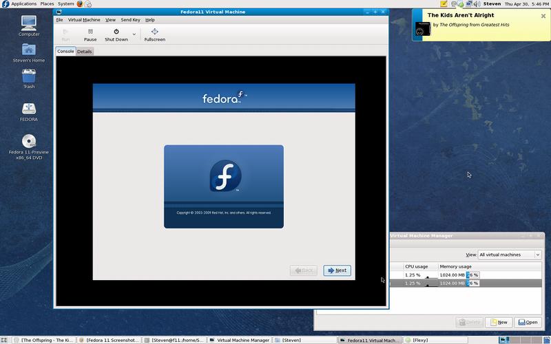 Fedora 11 知识和技能教程